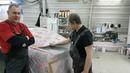 Проект покраски Honda Accord 7 шпатлевание багажника часть3