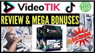 VideoTik Review ⚠️DON'T BUY VideoTik UNTIL YOU WATCH THIS⚠️ PLUS Mega Bonuses TikTok Software