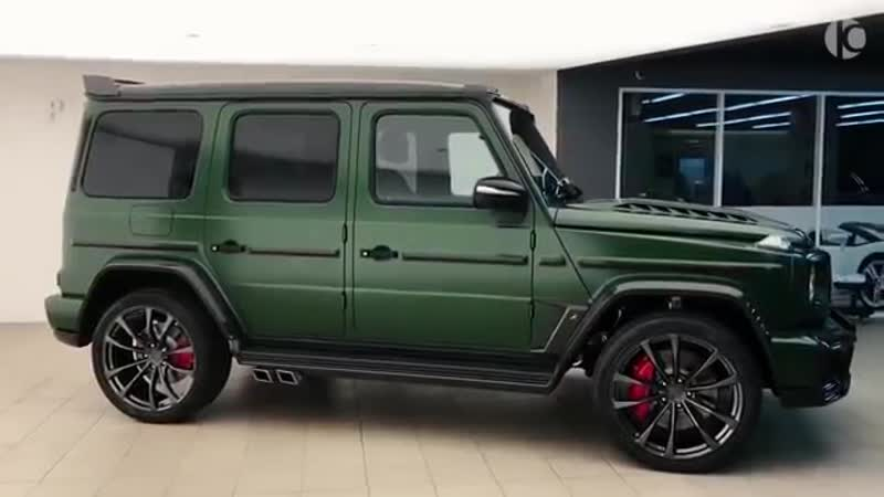 Mercedes-AMG G 63 (2019) Inferno - Details of the beast from TopCar