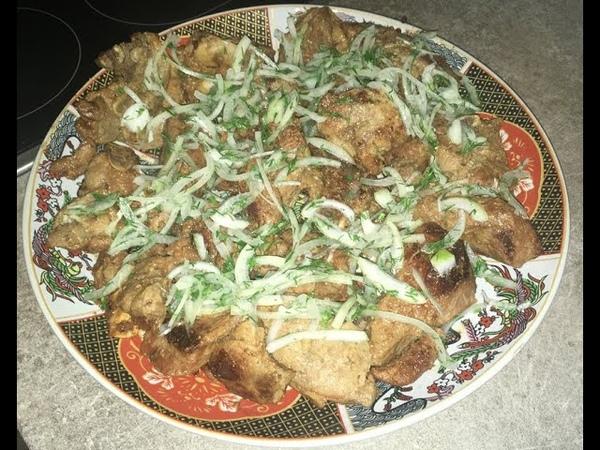 Как готовить Шашлык в казане из баранины на электроплите