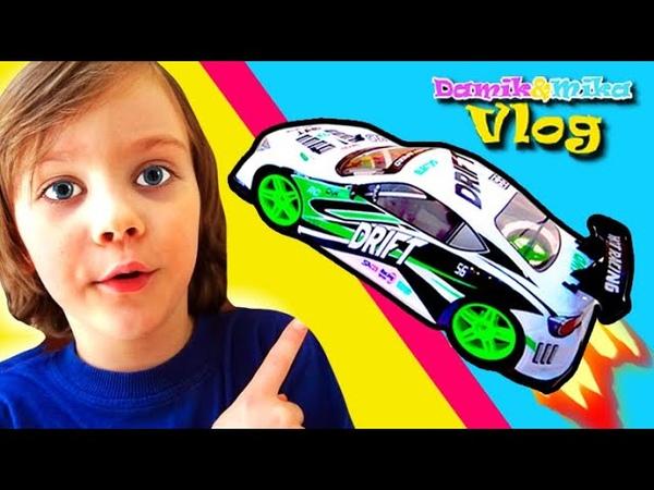 Дрифт Машинка Дамик и Мика Развлекательное видео для детей с машинками