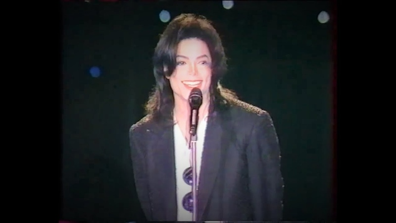 MICHAEL JACKSON EARTH SONG LIVE AT WORLD MUSIC AWARDS 1996