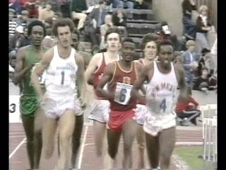 1977 Jubilee Games 800m Men - Alberto Juantarena, Mike Boit, Gary Cook