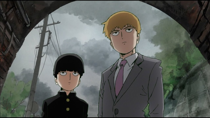 Every time mob and reigen say each other's names