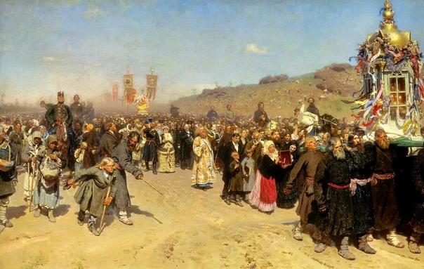 Падение верующих. Поселок Боголюбово (Владимирская область), 20 мая 1851 года. В 1771 году города центральной России выкашивала эпидемия чумы. В одной только Москве по официальным данным погибло