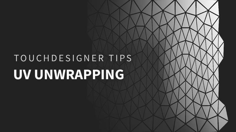 TouchDesigner Tips 01 UV Unwrapping