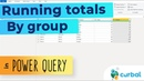Running totals by subcategory in Power Query!!