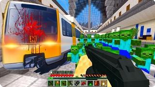 Всё пошло не по плану! ЧАСТЬ 73 Зомби апокалипсис в майнкрафт! - (Minecraft - Сериал)