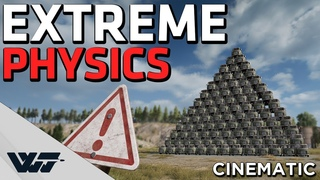 EXTREME PHYSICS - Extreme creations in PUBG's new Sandbox mode (Cinematic)