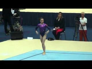 2010 WC Women's AA : Aliya Mustafina (RUS) FX