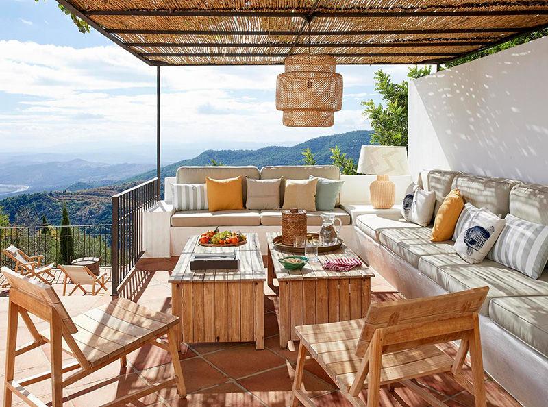 Очаровательный домик с небольшим бассейном и террасой в Испании || 02
