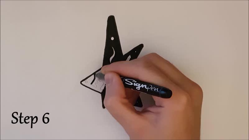 ✍ How To Draw 23 🌟 Etoile   Easy 🌌 Logo