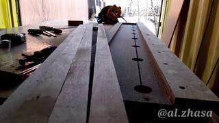 Направляющая шина для дисковой пилы только из ДСП своими руками. Circular saw track (DIY)
