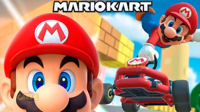СУПЕР МАРИО КАРТ ТУР 2 мультик игра для детей Детский летсплей на СПТВ Super Mario Kart Tour