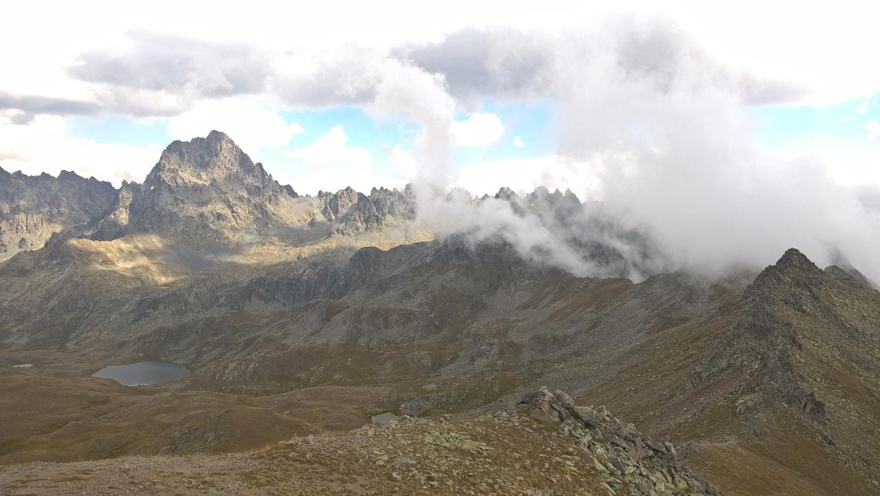 Риски в горах Качкар