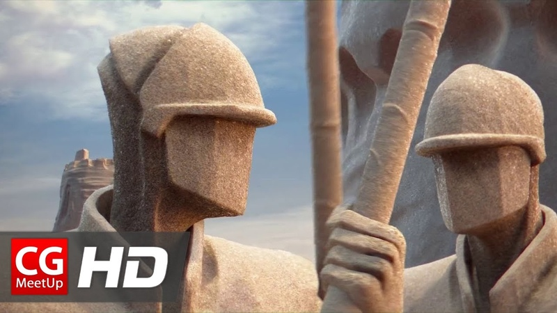 CGI Animated Short Film HD Chateau de Sable Sand Castle by ESMA CGMeetup