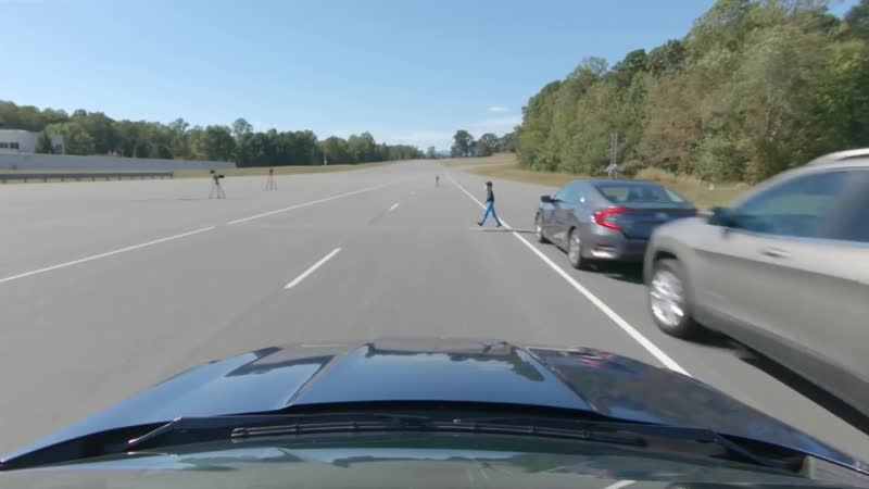 Pedestrian crash prevention varies for midsize cars IIHS News