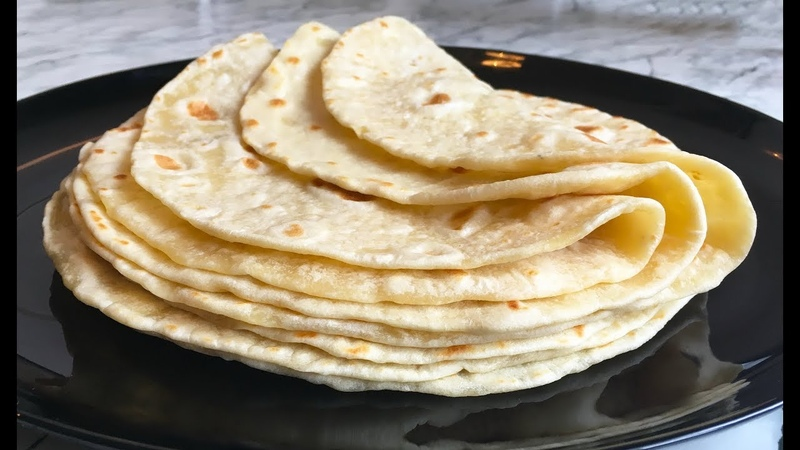 Самые Простые Лепешки Easy Flatbread Лепешки на Сковороде Простое Тесто Простой Рецепт