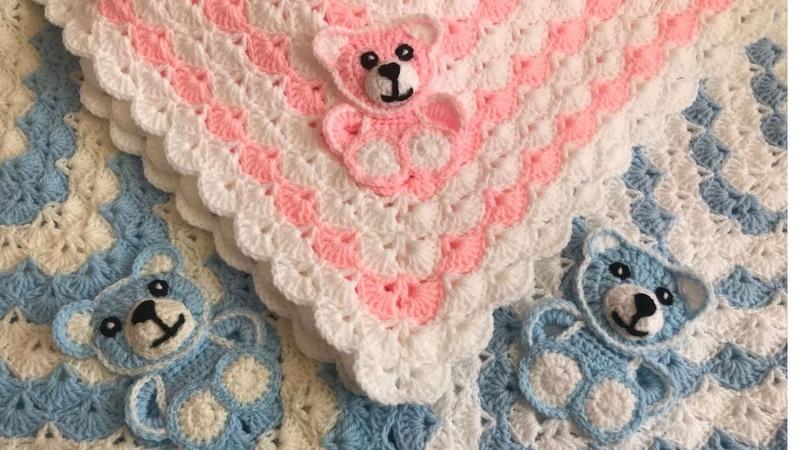 Crochet Bear Crochet baby blanket crochet animal blanket crochet blanket pattern