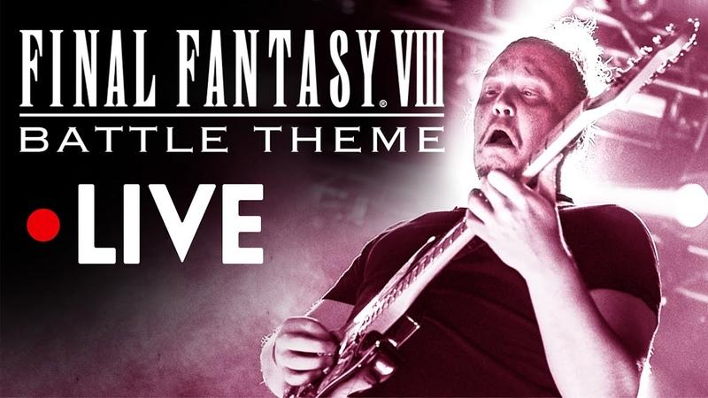 FINAL FANTASY VIII OST Battle Theme LIVE Music from FF8 FFVIII Soundtrack ファイナルファンタジー8バトルテーマライブ