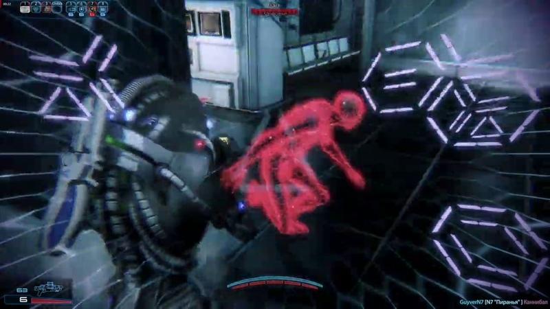 Mass Effect 3. Билд. Гет Разведчик. Рыбак.