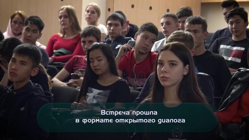Первокурсники высшей IT школы ВКГТУ встретились с полицейским