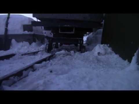 Сход грузового вагона Красноярская садовая железная дорога