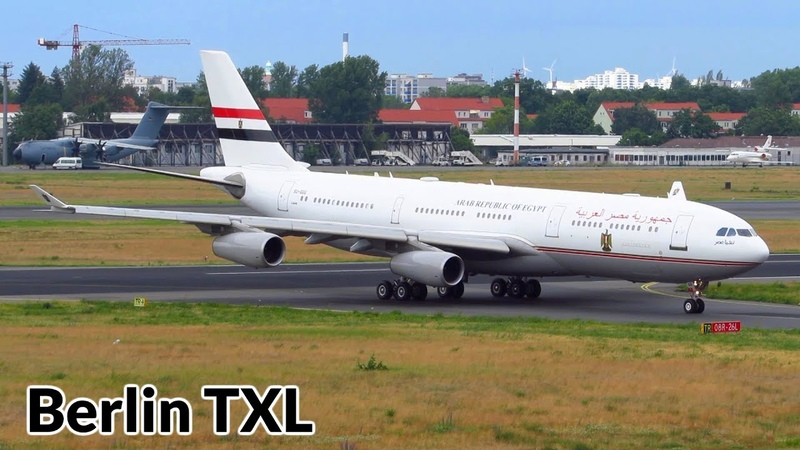 1 Hour INSANE Planespotting at Berlin Tegel Airport A340 200 A400M 777 A330 767 757 737BBJ