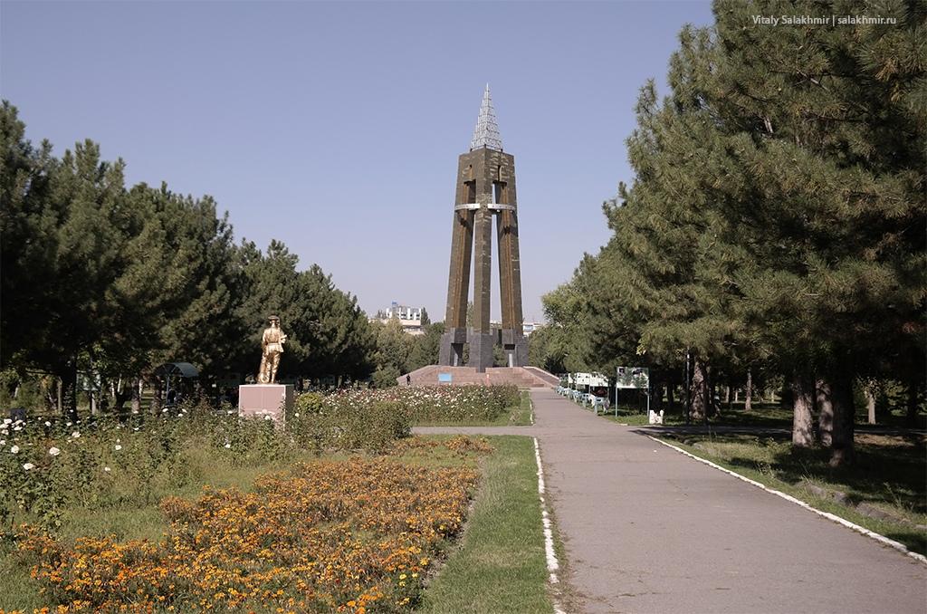 Осенние цветы, Парк Победы, Бишкек 2019