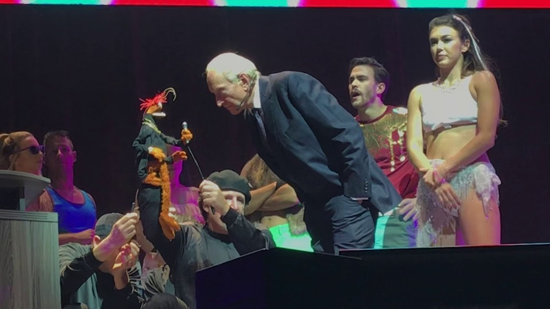 TheMuppets Take The O2 A Love Letter to England ft Charles Dance!