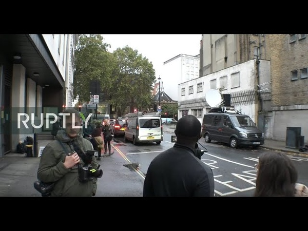 LIVE: Assange makes appearance at London court: stake-out