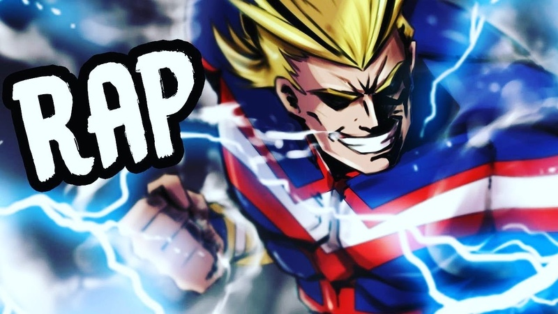 ALL MIGHT RAP | Mighty | RUSTAGE ft Daddyphatsnaps [My Hero Academia]