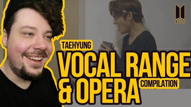 Mikey Reacts to Taehyung's Vocal Range Opera Compilations