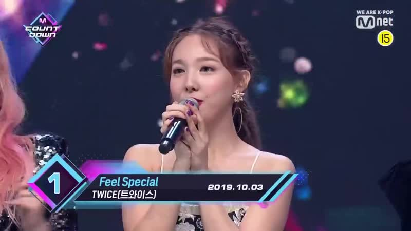 Top in 1st of October, TWICE' with Feel Special, Encore Stage! (in Full) M COUNTDOWN 191003 EP.63
