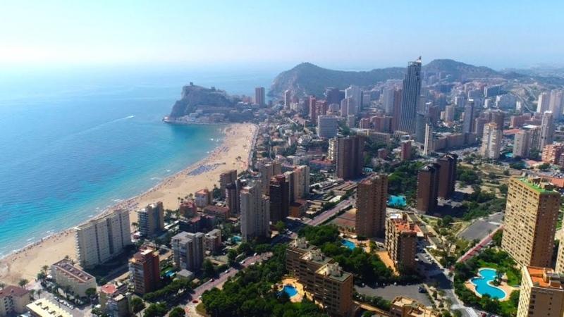 Студия в Бенидорме у пляжей La Cala и Poniente продажа Студии недвижимость в Испании у моря