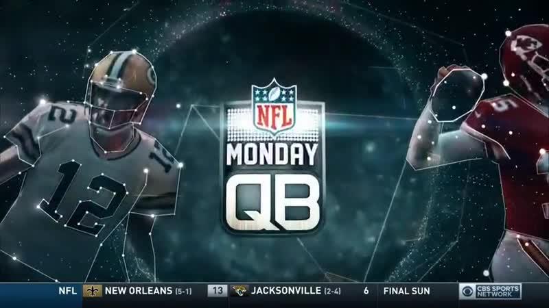 NFL Monday QB (CBS Sports Network, 14.10.19)