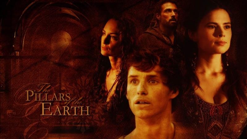 Заставка к сериалу Столпы Земли The Pillars of the Earth Opening Credits