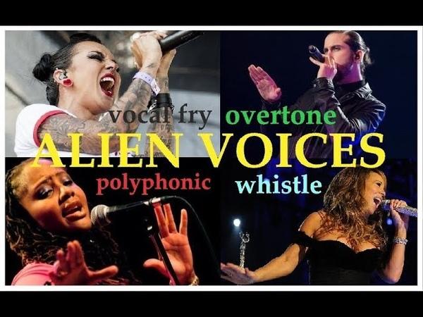 ALIEN VOICES - Female Male Singers