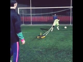 Футбольные упражнения для вратарей