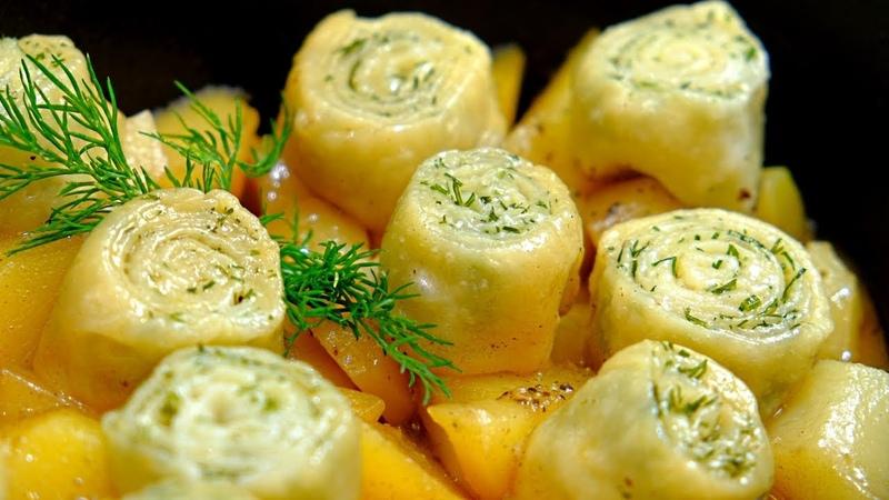 Нудли - Штрудли – Восхитительный обед из простых продуктов!