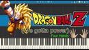 We Gotta Power (Four Hands) - Dragon Ball Z (Piano Tutorial)