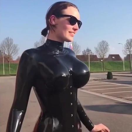 Latex boobs