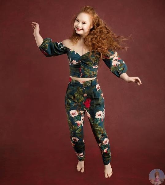 Madeline Stuart  самая известная модель с синдромом Дауна
