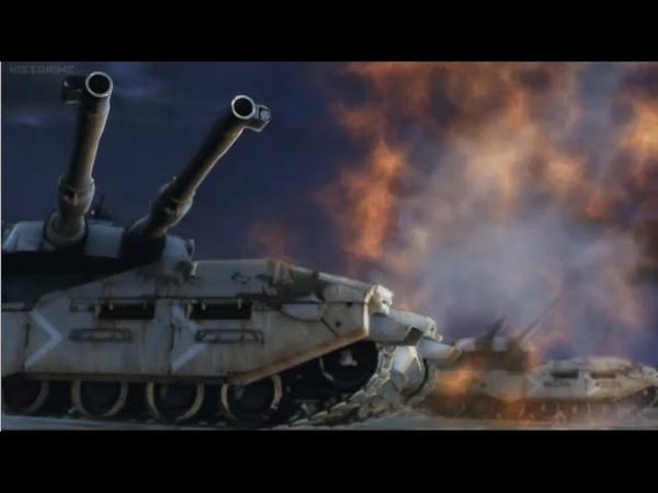 Type 61 5 MBTs vs. MS-06J Zaku IIs Ground Type