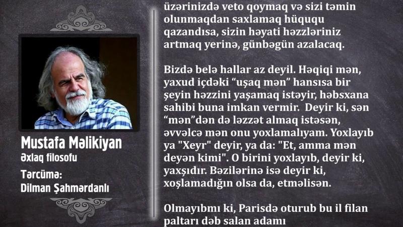 ZİNDAN Mustafa Məlikiyan