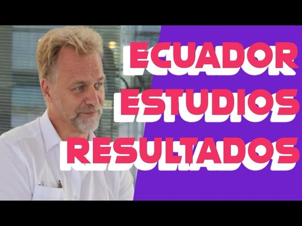 NOTICIAS SOBRE LOS RESULTADOS DE LAS INVESTIGACIONES DEL CDS Y COVID EN ECUADOR