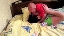 33 МАМА ДАША и ПАПА на кровати MVI 31 01 2013