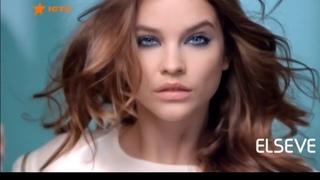 Реклама шампунь Эльсев от Лореаль / три глины