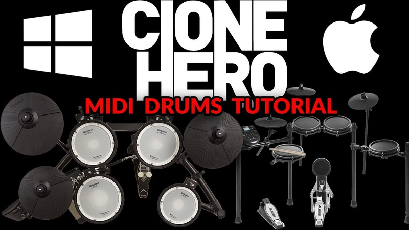 How to Get ANY MIDI Drumset to Work on Clone Hero Public Test Build