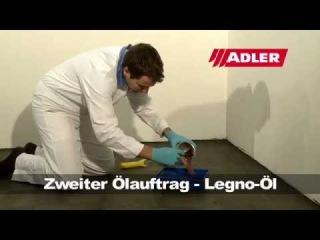 Parkett oder Holzböden ölen oder renovieren mit ADLER Legno-Öl